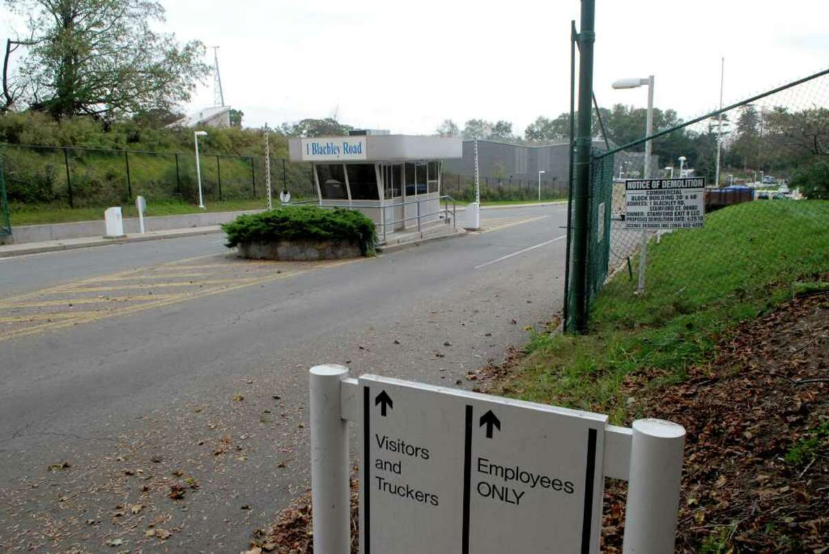 Entrance to the former Clairol site that is rumored to be the site for NBC Sports on Blachley Rd in Stamford, Conn. on Monday October 24, 2011