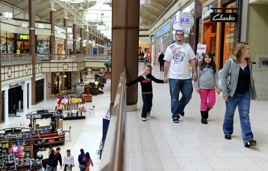 wonderful the danbury #2: The Danbury Fair Mall, photographed Monday, opened 25 years ago. Photo:  Carol