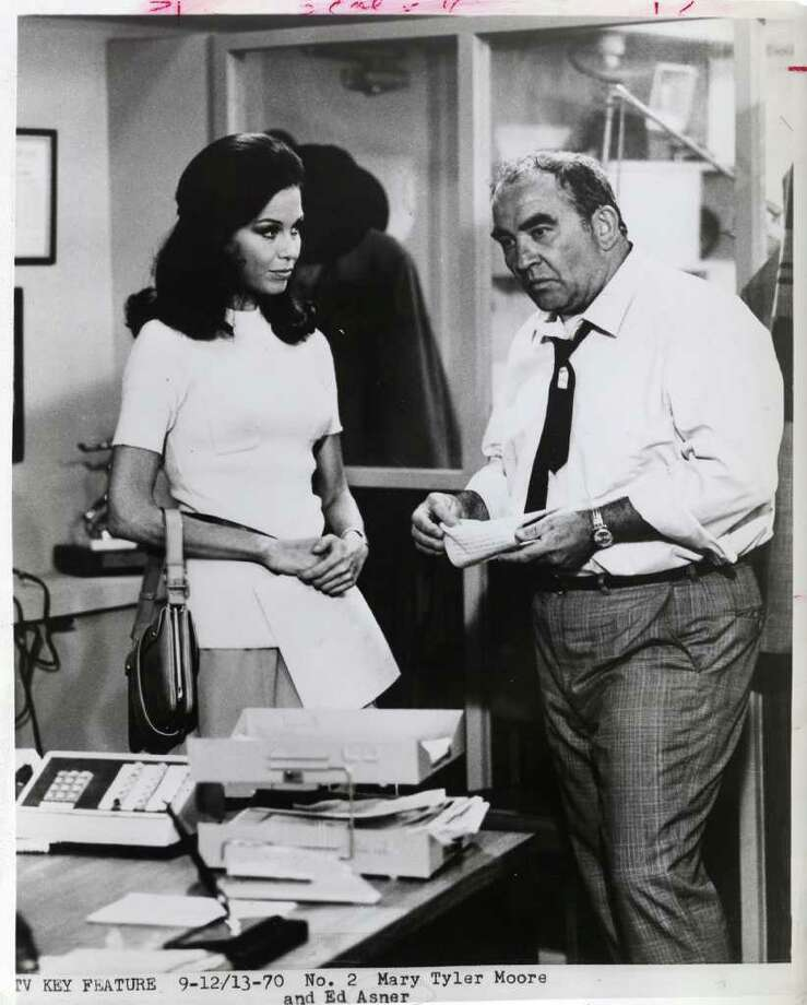 FILE PHOTOS GROUNDBREAKING: Mary Richards was an independent newswoman on The Mary Tyler Moore Show, which starred Mary Tyler Moore and Ed Asner. / handout