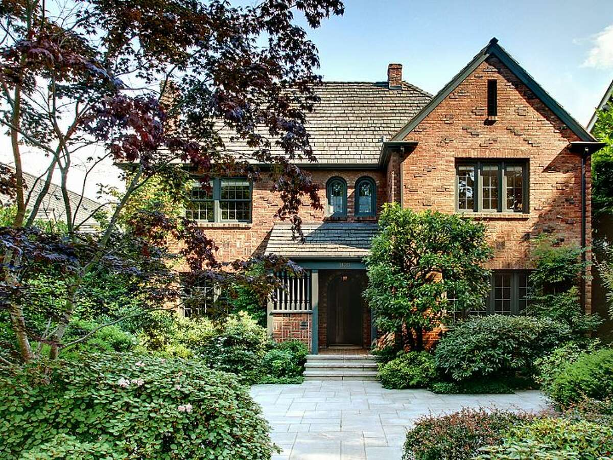 Looking for classic homes in a stately Seattle neighborhood? Here are three in the Washington Park/Denny Blaine area for $1 million to $1.5 million, starting with this brick house at 1120 36th Ave. E. The 3,730-square-foot home, built in 1930, has three big bedrooms, 2.25 bathrooms, leaded glass windows, wet bar and two fireplaces, including one in the family room, which has French doors leading to a backyard patio on the 7,200-square-foot lot. It's listed for $1.295 million.