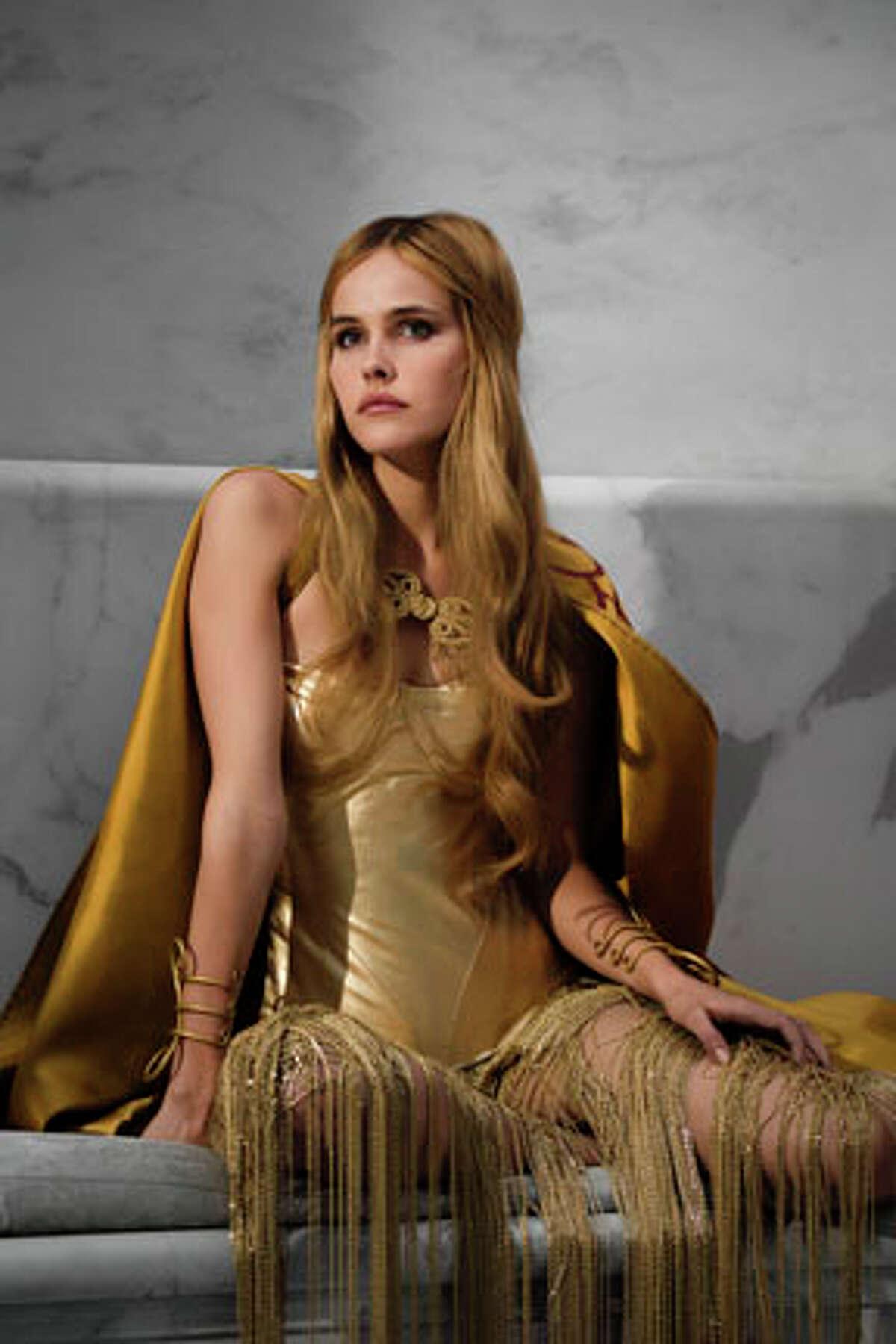 Isabel Lucas as Athena in