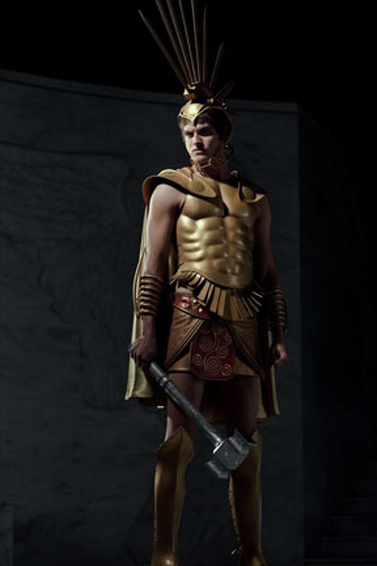 Daniel Sharman as Ares in