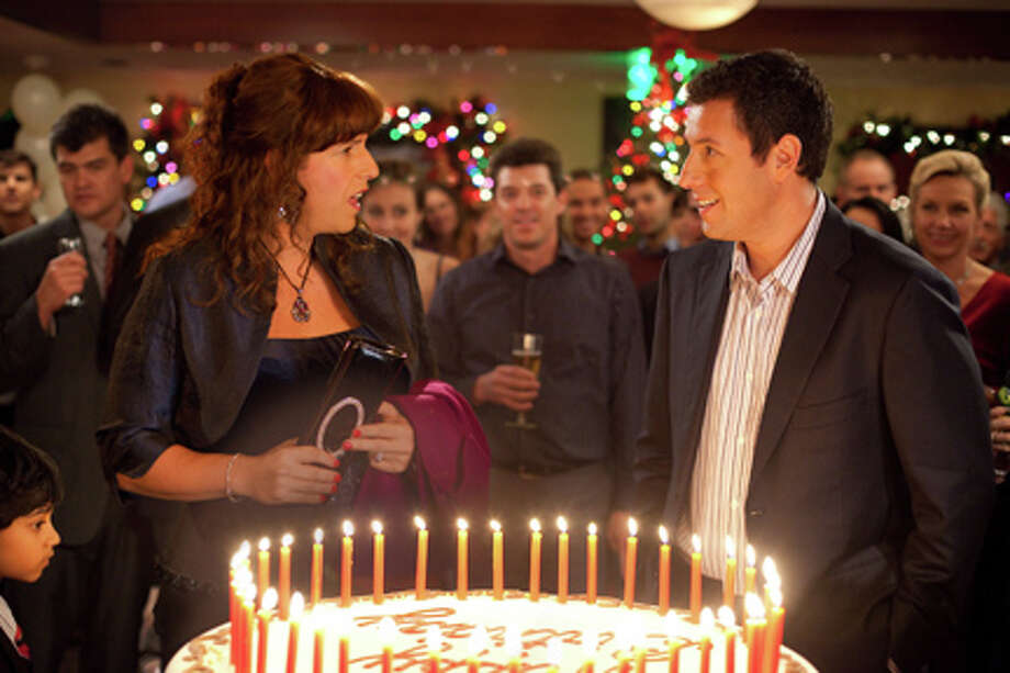 "Adam Sandler as Jill and Jack in ""Jack and Jill."" Photo: Tracy Bennett / ©2011 CTMG, Inc.  All Rights Reserved.  **ALL IMAGES ARE PROPERTY OF SONY PICTURES ENTERTAINMENT INC. FOR PROMOTIONAL USE ONLY. SALE, DUPLICATION OR TRANSFER OF THIS MATERIAL IS STRICKLY PROHIBITED."