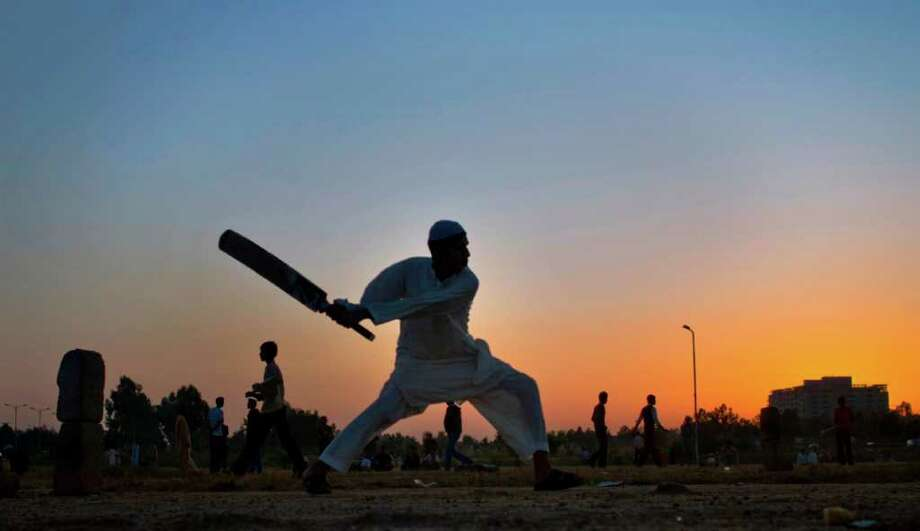 A cricket tournament, played as part of the 1900 Summer Olympics. The only match of the tournament was played between teams representing Great Britain and France. Photo: Anjum Naveed, Associated Press / AP