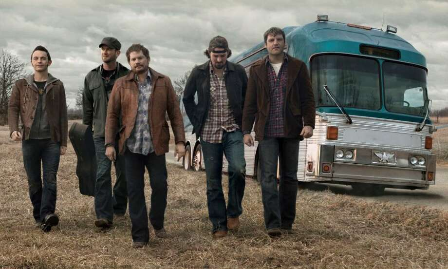 The Randy Rogers Band originated in Cleburne, Texas. Photo: MCA Nashville