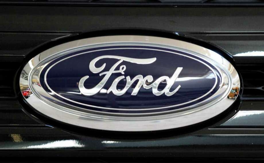 Shows The Ford Emblem