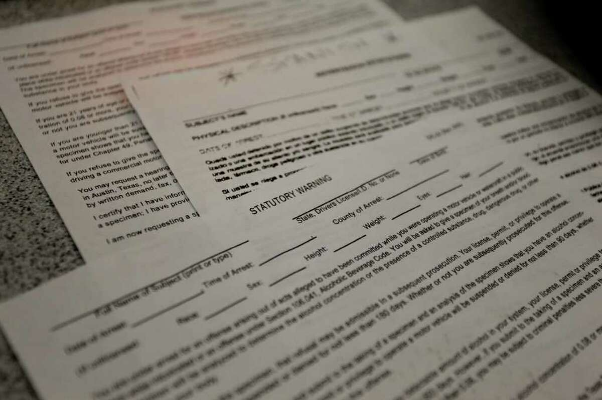 Paperwork is required for those booked into HPD's