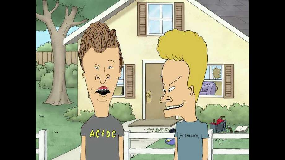 "4. 'Beavis and Butt-Head' - The brainchild of Mike Judge that would leave teens across America crying out phrases like, ""I am the great cornholio!"" debuted in 1993 on MTV to mixed reviews; social conservatives clutched their pearls, Gen-Xers rejoiced. And Judge went on to a successful career of parodying youth culture and, later with the animated series ""King of the Hill,"" Texan culture. YouTube: 'I am the great cornholio!' Photo: MTV"
