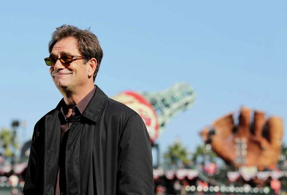 No news here as San Fran sports fan Huey Lewis has sang the national anthem at Giants and 49ers games.  Photo: Jusitn Sullivan / 2010 Getty Images