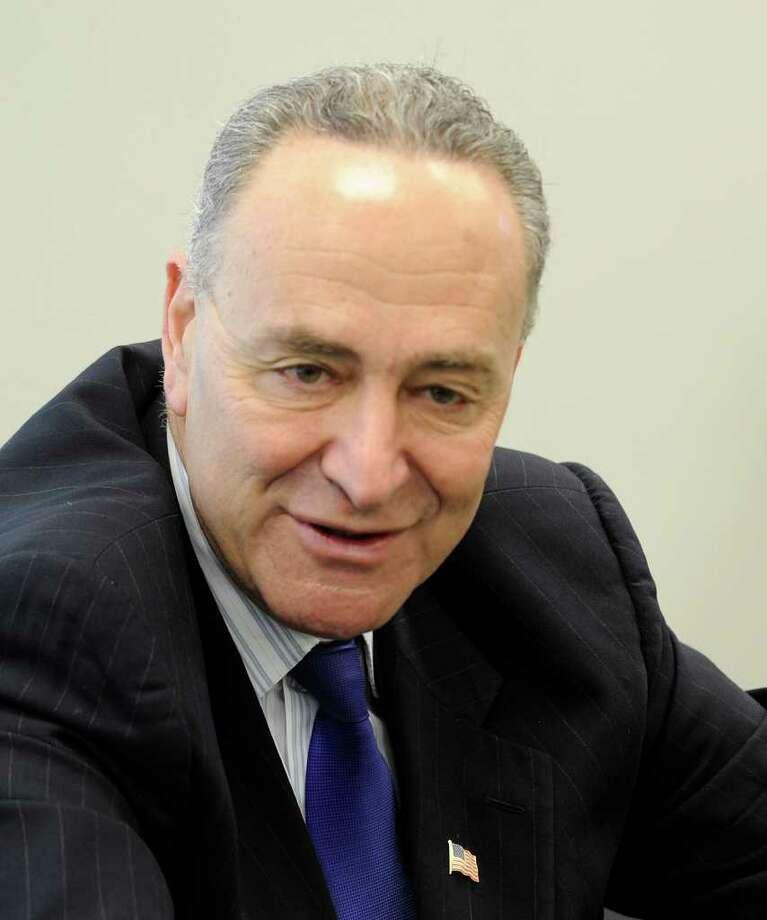 U.S. Sen. Charles Schumer, D-N.Y.   (Skip Dickstein / Times Union) Photo: SKIP DICKSTEIN / 2008