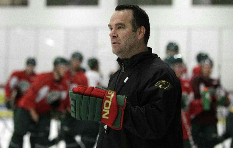 John Torchetti, 2011 Houston Aeros hockey coach. Photo: Houston Chronicle