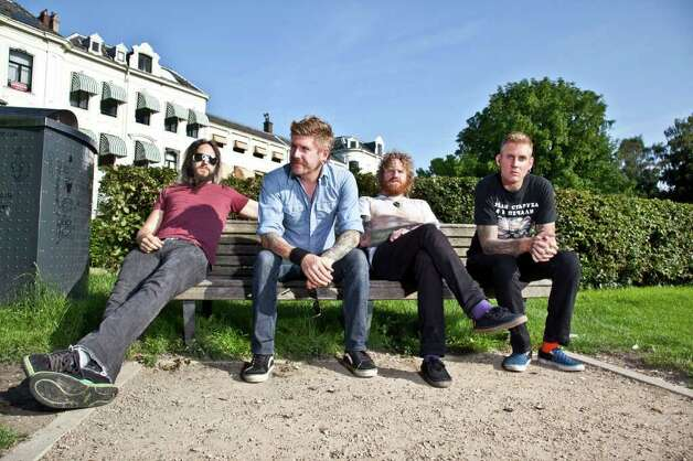 Atlanta's Mastodon turns out a labyrinthine sort of hard rock with elements of Southern rock, prog rock and metal. Photo: Cindy Frey
