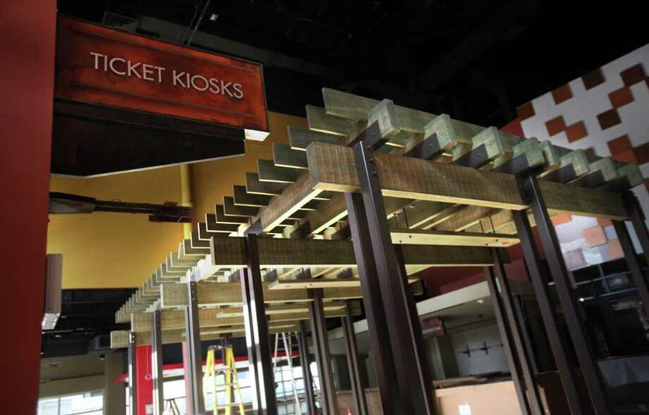 A ticket kiosk will be available to purchase movie tickets at the new Sundance Cinemas on Wednesday, Oct. 26, 2011, in Houston. Photo: Mayra Beltran, Houston Chronicle / © 2011 Houston Chronicle