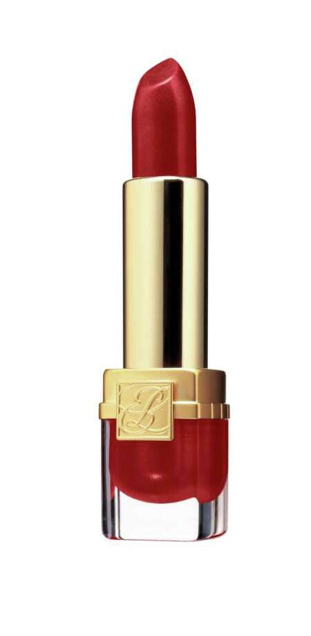 Red lips are classic for fall.  Estée Lauder's Cherry Passion is a favorite among Latinas. Photo: ESTÉE LAUDER