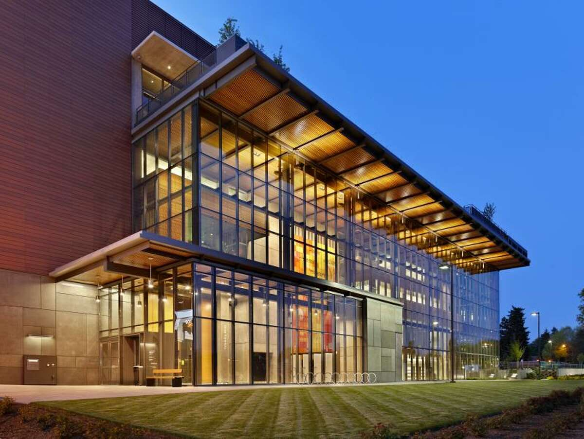 This is the new Vancouver Community Library, certified LEED Gold.