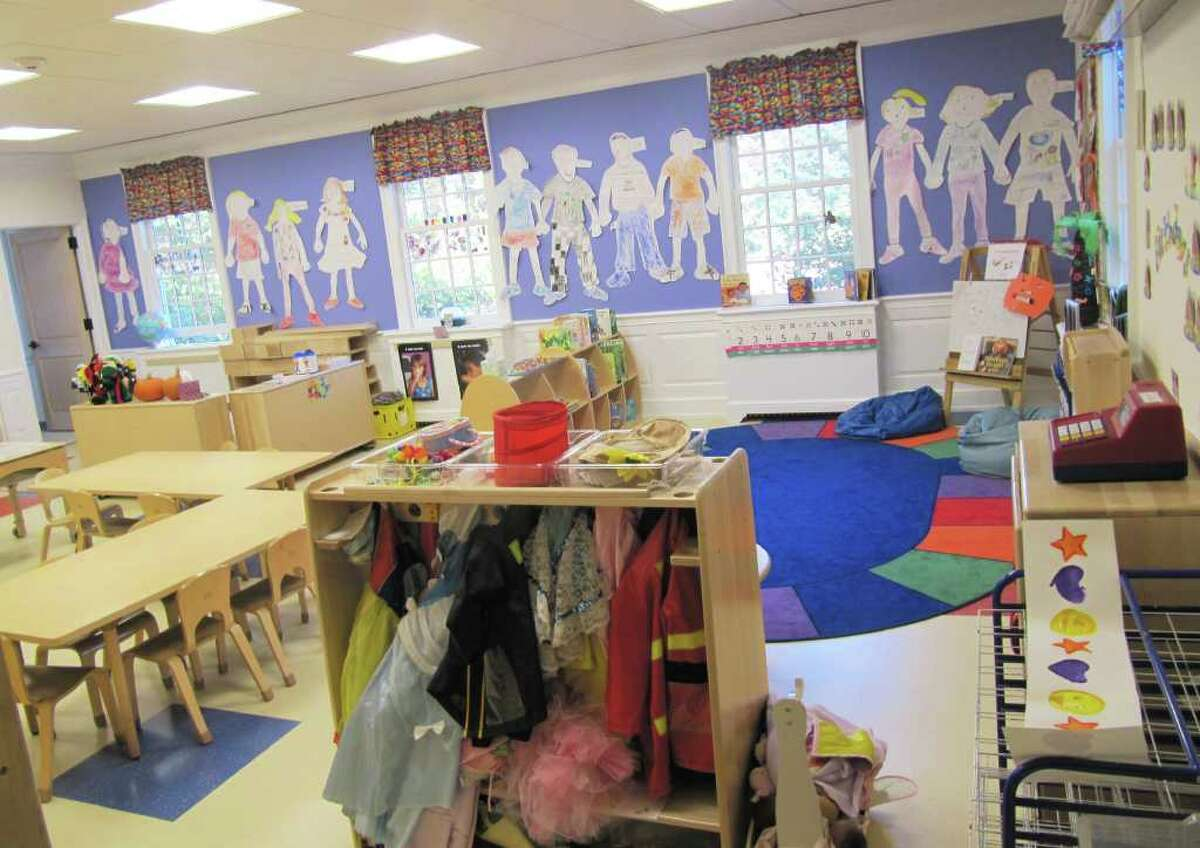 Pictured is the new classroom addition at Saugatuck Nursery School, 245 Post Road E. The additional space was needed to meet the current trend in early childhood education - programming for 2-year-olds.