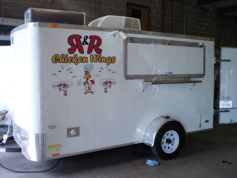 "R & R Chicken WingsWho: During the week, Roland Esqueda builds mobile kitchens for gourmands itching to get on the road, but on the weekends he's the one cooking. Esqueda, 39, and 13-year-old son Roland Jr. are busy filling orders of wings out of a 12-foot trailer. ""We used to go out and eat wings, until one day I said I could make them just as good,"" Esqueda says. Growing pains have caused Esqueda to put his current trailer on the market while he shops for a bigger trailer to put more fryers in.Where: The Boardwalk on BulverdeFollow: R & R chickenwings on Facebook, @RRChickenWings on Twitter; 210-379-0152, randrchickenwings@gmail.comMenu: Wings come in barbecue, Cajun, mild and hot, served with fries or onion rings. Don't miss the crispy and tart lemon pepper wings.Payment: Cash only"