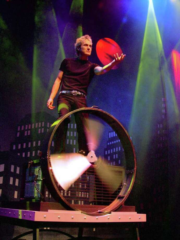"Kevin Spencer brings his ""Theatre of Illusion"" to Fairfield University on Sunday, Oct. 30. Photo: Contributed Photo"