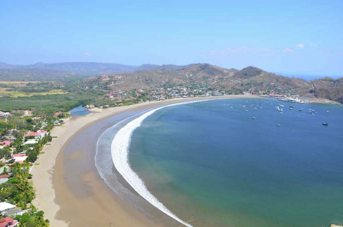 A beach in San Juan del Sur, Nicaragua. Photo by Pete Holley /Houston Chronicle