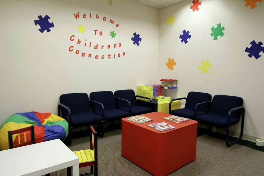 The waiting room at Children's Connection's new Child Advocacy Center. Photo: Contributed Photo