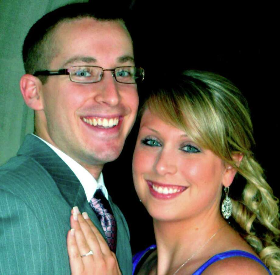 SPECTRUM/Lindsay Burke of New Milford is engaged to be married to Robert Accosta of Sherman. An October 2012 wedding is planned.  Courtesy of the Burke family Photo: Contributed Photo