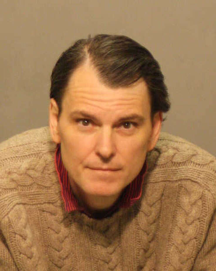 A former Greenwich resident is accused of using his father's identification to defraud his former wife's medical insurance company and other businesses of more than $50,000. Johnathan H. Plunkett, 49, of 912 5th Ave., Apt. 7F, New York City, was charged with 44 counts of identity fraud, 43 counts of second-degree forgery and one count each of first-degree larceny and criminal attempt. Photo courtesy of Greenwich police Photo: Contributed Photo