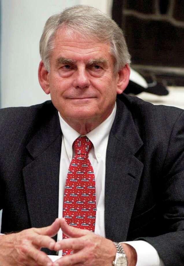 Former Greenwich First Selectman Richard Bergstresser, a Democrat. Photo: File Photo, Greenwich Time File / Greenwich Time File Photo