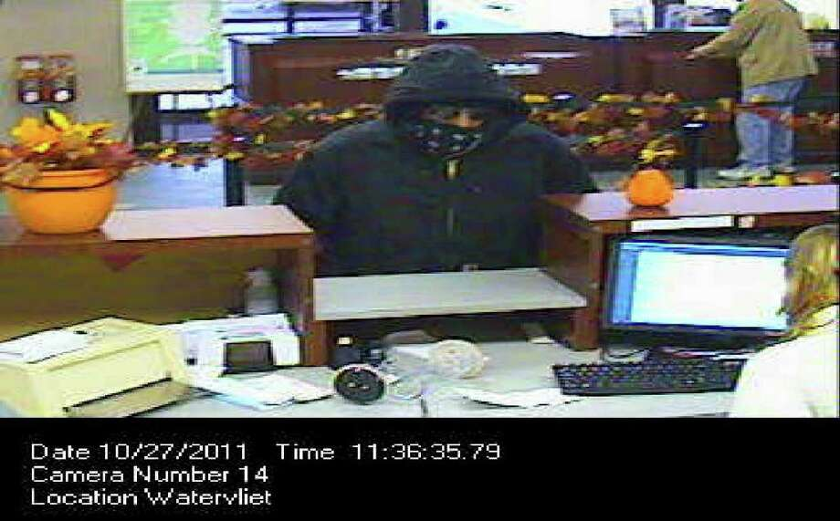 Police are searching for a suspect after a bank robbery at the Pioneer Savings Bank on Second Avenue Thursday morning.