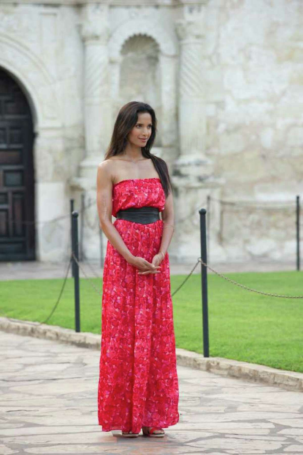 Top Chef: Texas host Padma Lakshmi speaks fondly of her summer visit to San Antonio with co-hose Tom Calicchio.