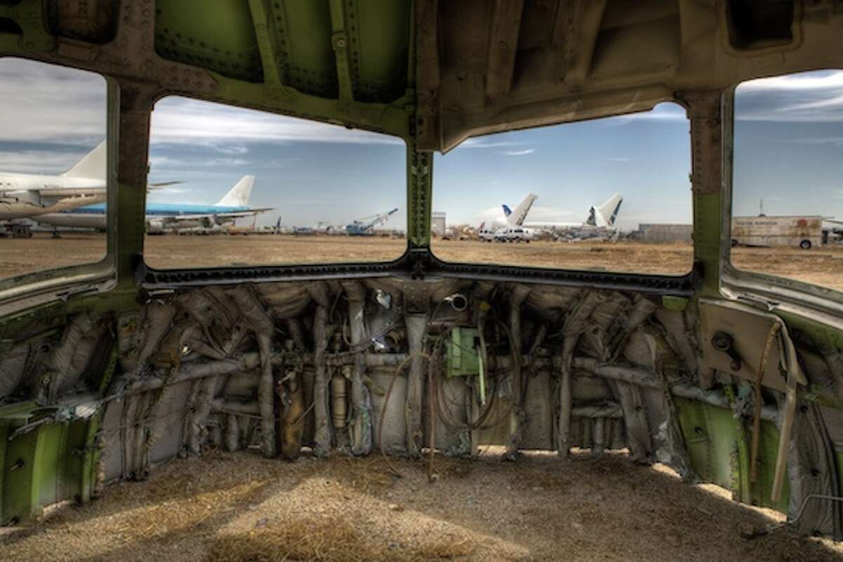Photographer Ransom Riggs recently talked his way into the airplane graveyard near Mojave Air and Space Port, in Mojave, Calif., and made some very cool pictures. Enjoy.