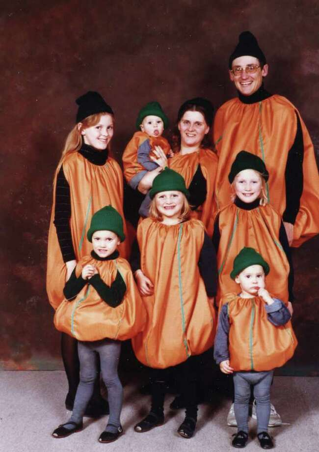In honor of the terrible costumes of Halloweens past, we present a timely collection of awkward Halloween photos, courtesy of the folks at awkwardfamilyphotos.com. And you thought your childhood sheet-with-cutout-slits costume was bad. Pictured above: The Bag-o-Lantern family. Photo: Courtesy Awkwardfamilyphotos.com