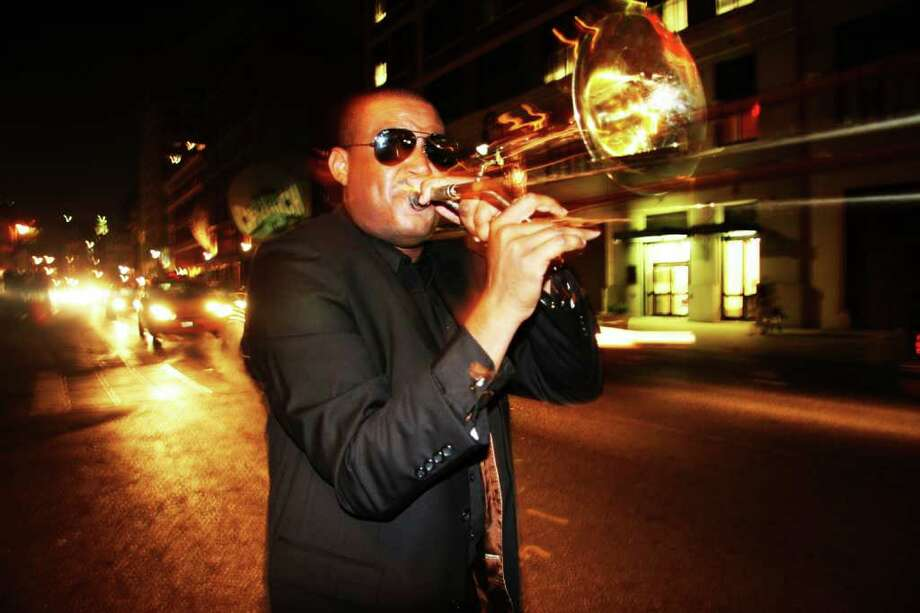 New Orleans jazz trombonist Glen David Andrews will play StageOne Thursday, Oct. 28. Photo: Contributed Photo