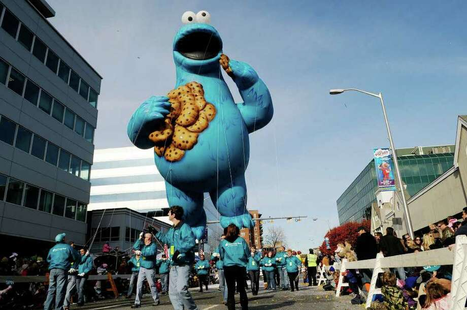 The Cookie Monster. Photo: Shelley Cryan, ST / Shelley Cryan freelance; Stamford Advocate Freelance