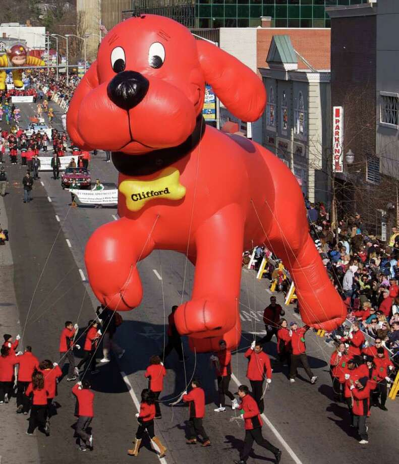 Clifford the Big Red Dog. Photo: Contributed Photo