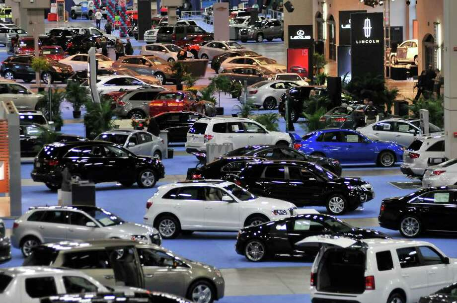 Hundreds of cars on display as the San Antonio International Auto & Truck Show opened at the Convention Center. Photo: Photo By Robin Jerstad/Special T