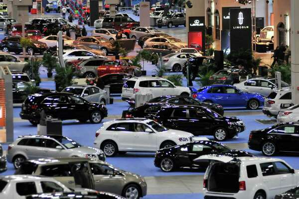 Hundreds of cars on display as the San Antonio International Auto & Truck Show opened at the Convention Center.