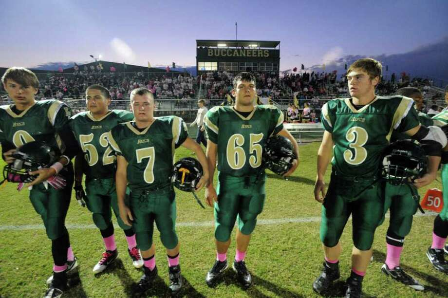 East Chambers ISDEast Chambers High SchoolGraduation: 7 p.m. May 30 in the high school gym(File photo) East Chambers Buccaneers football players get set for kickoff against the Buna Cougars at East Chambers High School. Thursday, October 27, 2011. 