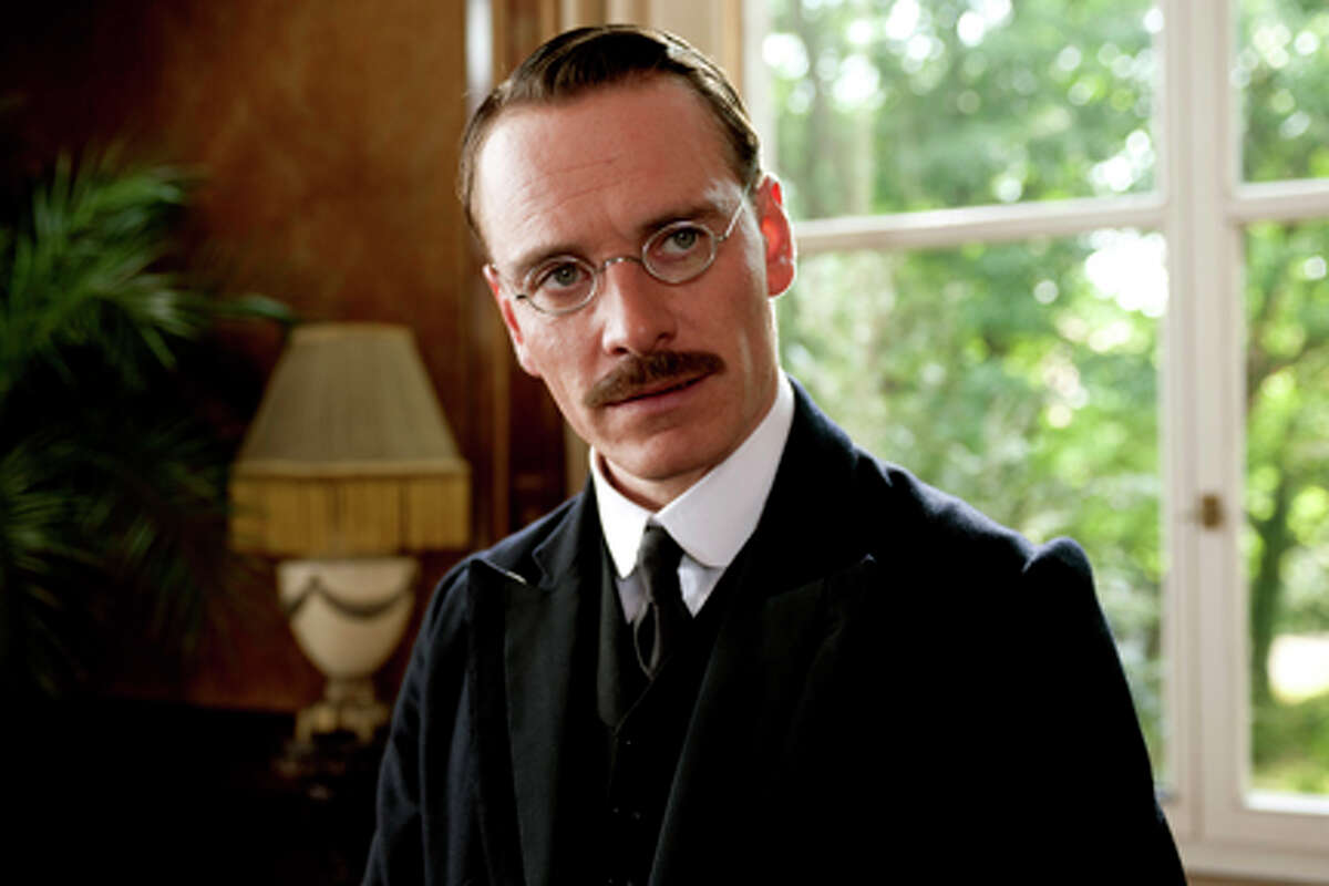 Michael Fassbender as Carl Jung in