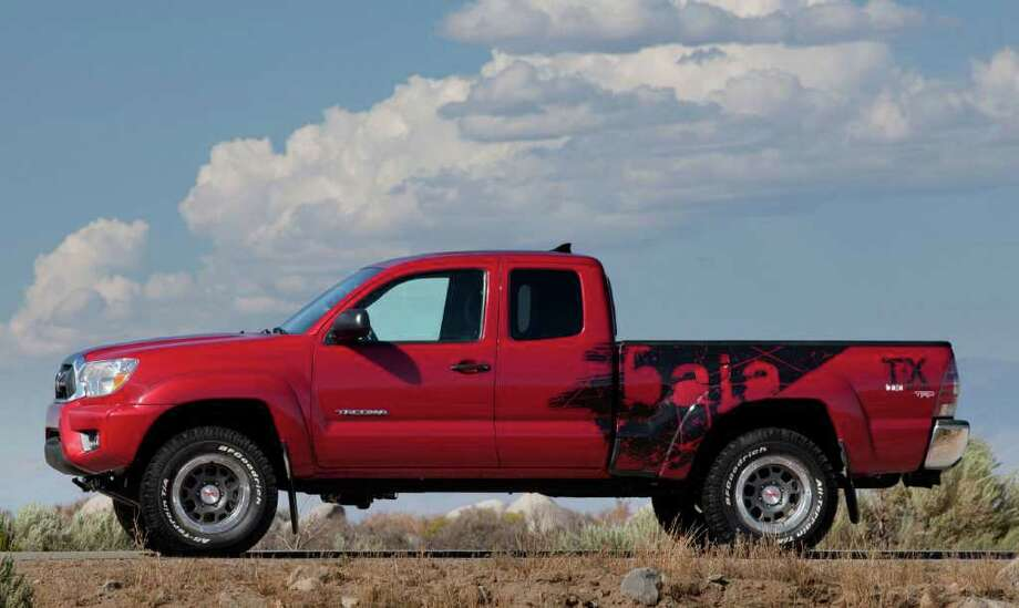 The special edition TRD Tacoma T/X Baja Series pickup will be built exclusively at Toyota's San Antonio plant. It will arrive on late spring as a 2012 model. COURTESY OF TOYOTA MOTOR SALES U.S.A. Photo: Toyota Motor Sales U.S.A., COURTESY OF TOYOTA MOTOR SALES U.S.A.