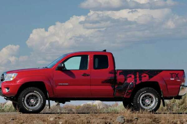 The special edition TRD Tacoma T/X Baja Series pickup will be built exclusively at Toyota's San Antonio plant. It will arrive on late spring as a 2012 model. COURTESY OF TOYOTA MOTOR SALES U.S.A.