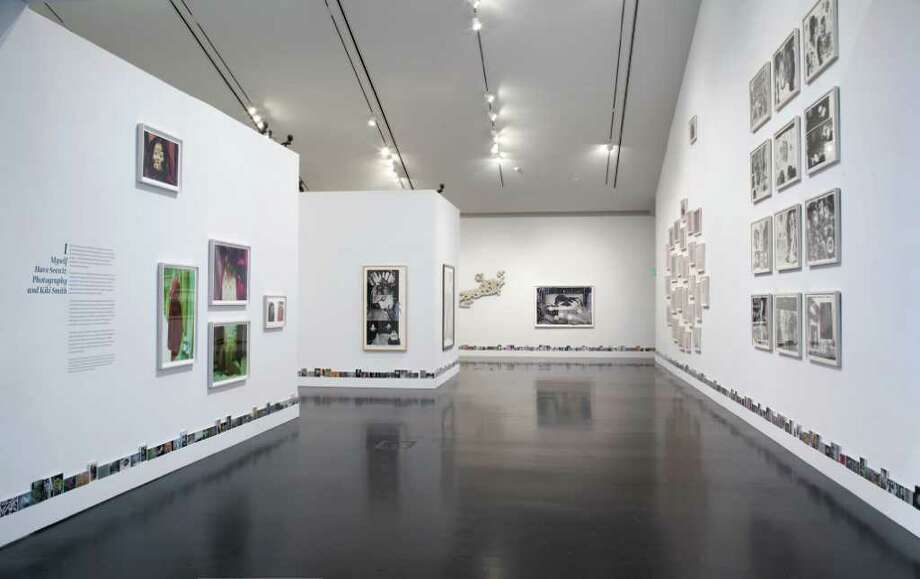 Installation view, I Myself Have Seen It: Photography and Kiki Smith, The Frances Young Tang Teaching Museum and Art Gallery at Skidmore College, Saratoga Springs, New York