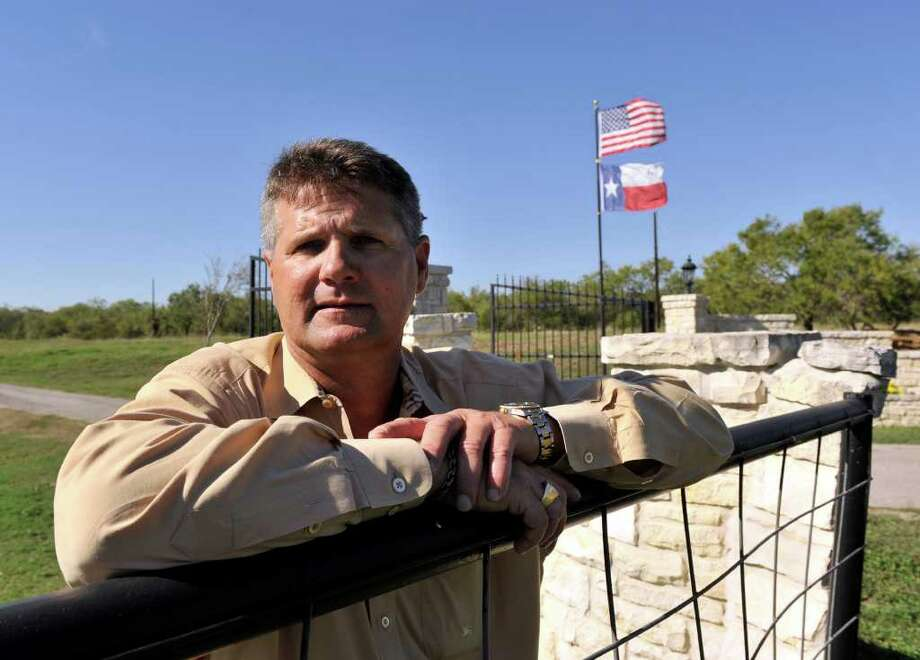 Frank Moravits, whose great-grandparents immigrated from Poland in the 1920s to South Texas, is involved in a mineral rights dispute on his Karnes County land. Photo: Robin Jerstad/Special To The Express-News