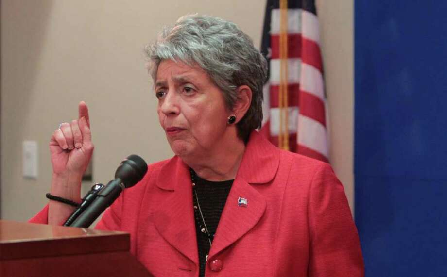 Harris County DA Pat  Lykos scoffs at critics who believe only an experienced prosecutor can run the district attorney's office. Photo: Billy Smith II / Houston Chronicle