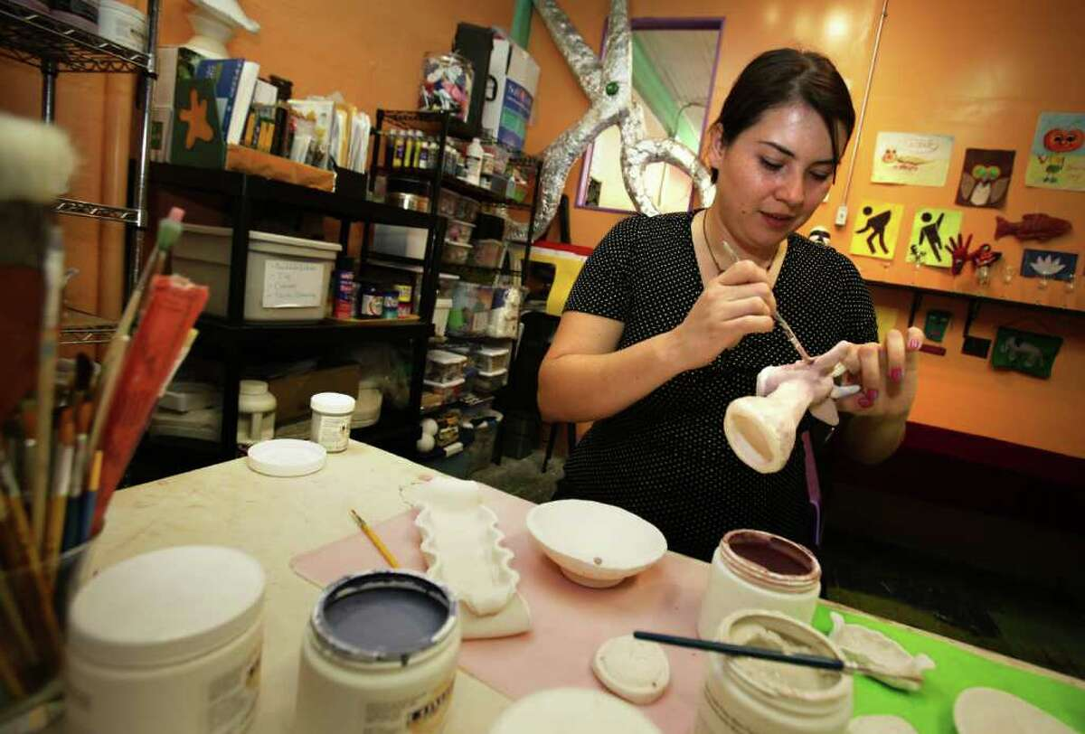 Laura Salazar went to Houston Community College, the Alamo Colleges and the University of Texas at San Antonio, where she dropped out after taking out $5,000 in loans. She opened a craft shop and school called the DIY Factory and is happy with her career, but is still bothered by not having a degree.