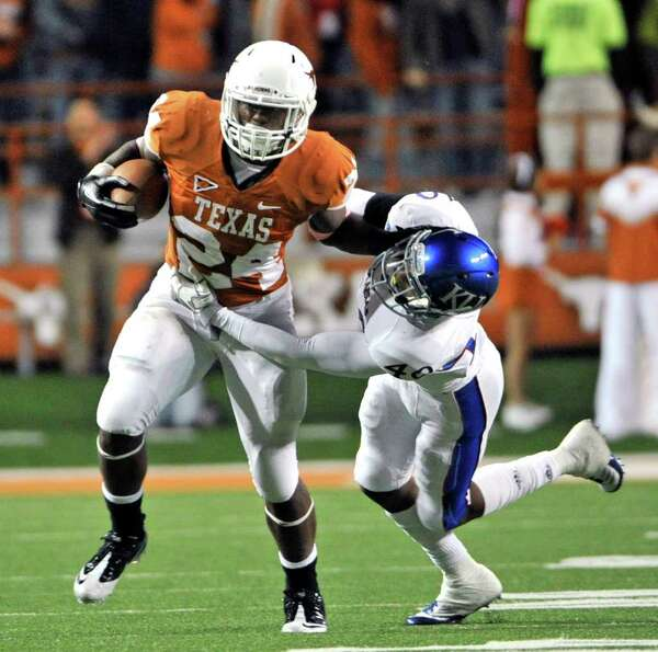 Oct. 29: Texas 43, Kansas 0.