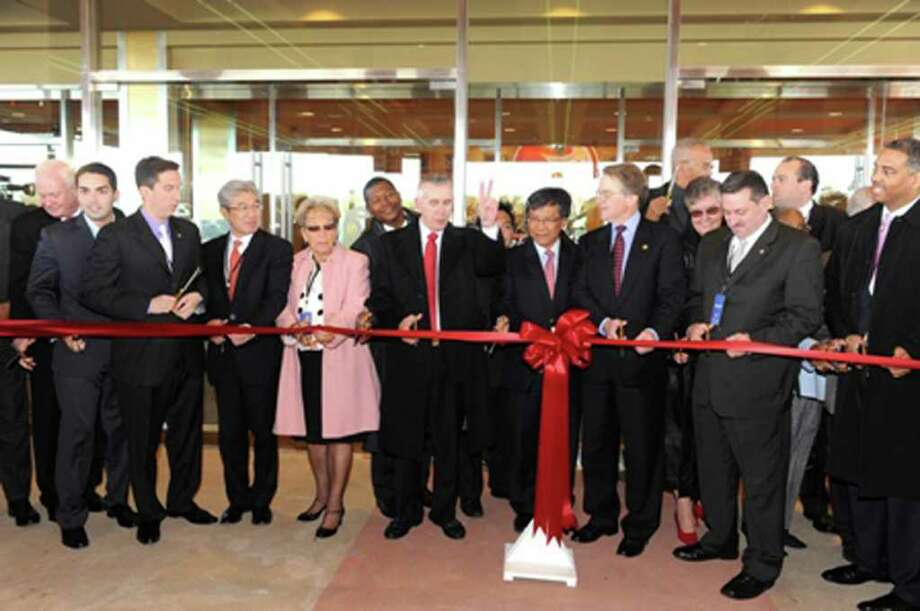 The new Resorts World Casino New York City in South Ozone Park, Queens, officially opened to the public Oct. 28, 2011.