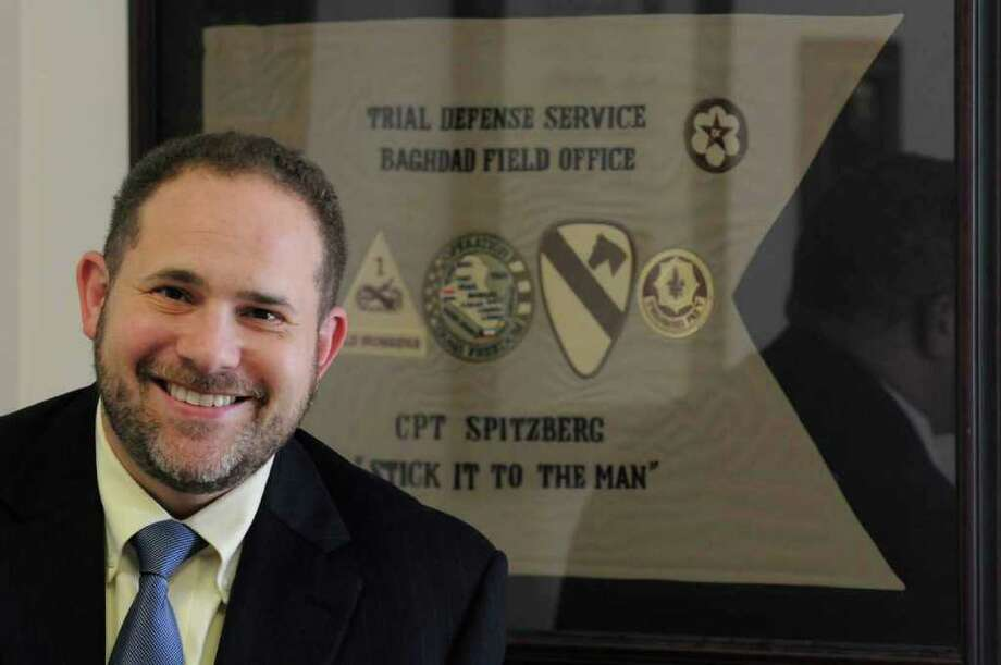 Sam Spitzberg,  new Director of Investigations for the NYS Commission on Quality of Care and Advocacy for Persons with Disabilities in Schenectady, NY Thursday, Oct. 20, 2011.( Michael P. Farrell/Times Union) Photo: Michael P. Farrell