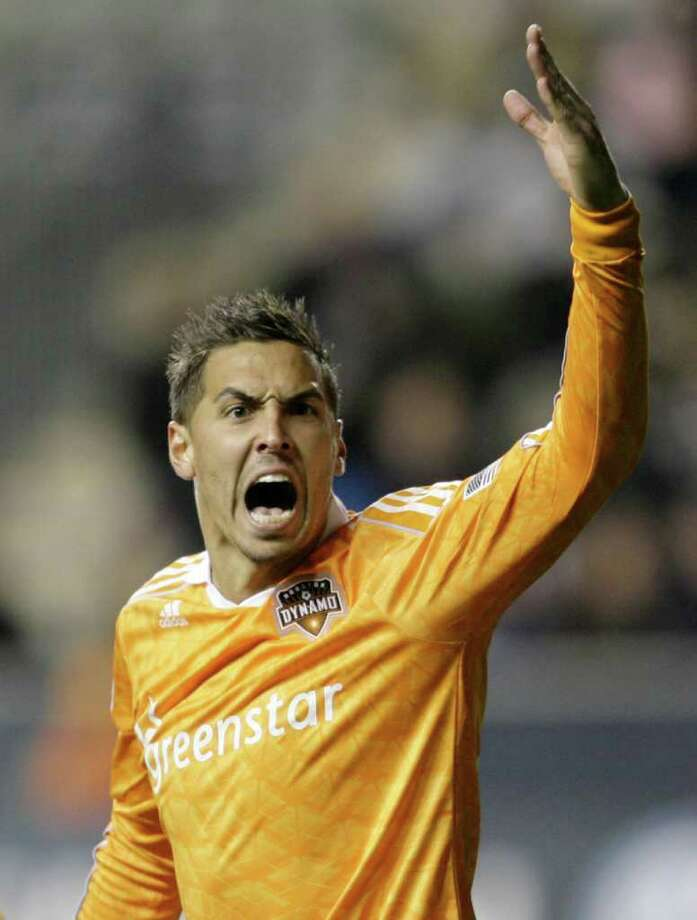 CHRIS GARDNER:  GETTY IMAGES HAPPY CAMPER: Geoff Cameron is enthusiastic about his opportunity with the U.S. national team. Photo: Chris Gardner / 2011 Getty Images