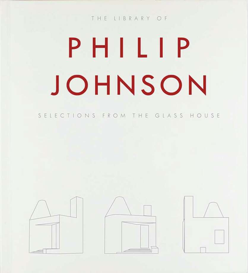 The library of Philip Johnson: Selections from the Glass House is a new book. Photo: Contributed Photo / New Canaan News