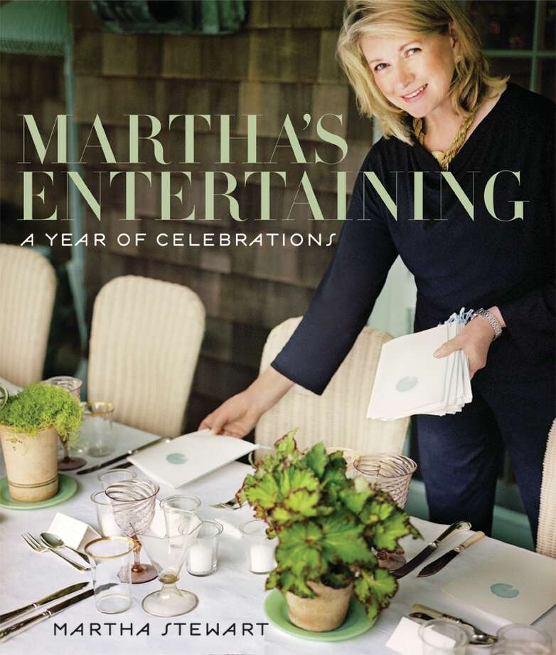 NEW BOOK: Martha's Entertaining: A Year of Celebrations ($75, Clarkson Potter, 432 pp.) Photo: Clarkson Potter